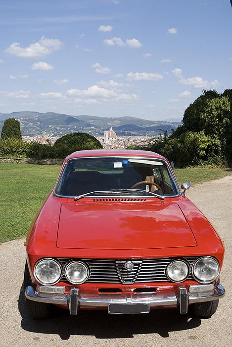 Chianti Classic Car, Tuscany (Italy