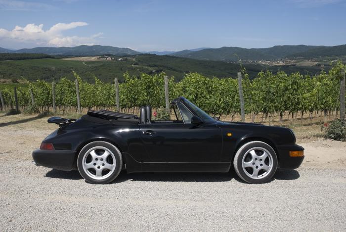 Porsche 911 Carrera Hire Chianti Classic Car Tuscany